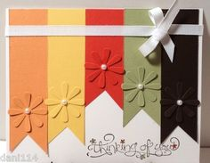 "THINKING OF YOU ""RIBBONS"" Card Kit"