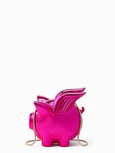 imagination flying pig clutch by kate spade new york