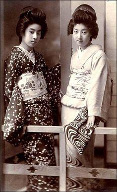 World of Ethno: Photo Japanese Geisha, Japanese Beauty, Vintage Japanese, Japanese Girl, Samurai, Oriental Dress, Japanese Photography, Japan Photo, Japanese Prints