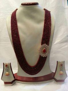 Hyderabadi Jewelry India Jewelry, Bead Jewellery, Pearl Jewelry, Wedding Jewelry, Beaded Jewelry, Jewelery, Beaded Necklace, Antique Jewellery, Jewelry Necklaces