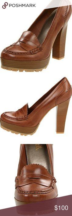"Mia Girl Vegan Leather High heel shoes. In great condition. Heel 4.25"" Girl Mia Shoes Heels"