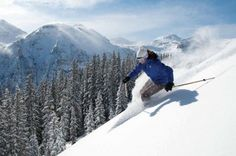 Picture perfect. Telluride. #skiing #snow #mountains
