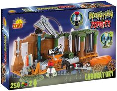Monsters VS Zombies laboratory game. Zombie Board Game from Cobi https://www.amazon.co.uk/gp/product/B00E9801SK?ie=UTF8&camp=1634&creativeASIN=B00E9801SK&linkCode=xm2&tag=zomsho-21
