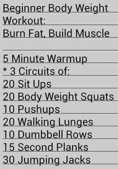 Use this one simple trick to build muscle quick Nerd Fitness Beginner Body Weight Workout: Burn Fat, Build Muscle