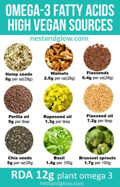fatty acid high vegan foods including hemp seeds, walnuts and flaxseeds Brain Healthy Foods, Best Diet Foods, Vegan Foods, Best Diets, Brain Food, Best Diet Plan, Healthy Diet Plans, Healthy Eating, Vegan Nutrition