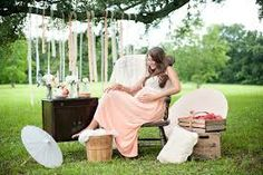 alternative to canopy --  dangling garlands - Maternity Photography - meadoria