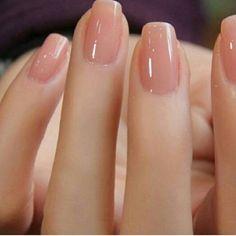 Nude Nail Art | French tip nail designs #NaturalNails
