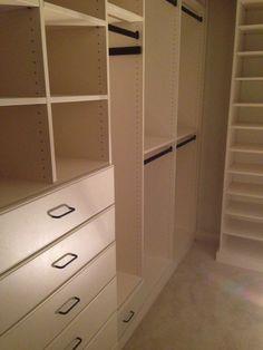 Closet Creations built this closet! Organized