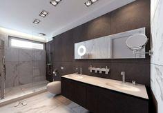Fliesengestaltung im Badezimmer