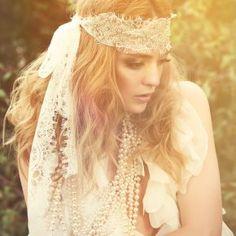 bohemian wedding headpiece