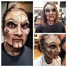 Wooden Doll Makeup by Stephanie Hernandez