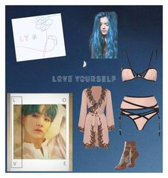 """""""Love Myself"""" by himero on Polyvore featuring Agent Provocateur"""