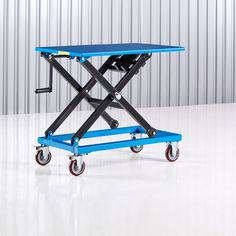 Sturdy lifting table that facilitates heavy lifting and lets you set an optimal working height. The lift table is adjustable in height and has a manual. Access Ramp, Lift Table, Moving And Storage, Finding Yourself, Make It Yourself, Cool Coffee Tables, Table Height, Adjustable Legs