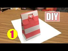 DIY - Paper Bag Tutorial #01