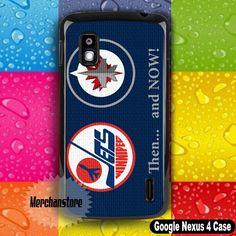 Winnipeg Jets NHL Hockey Team Logo Google Nexus 4 Case