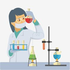 Chemist people Vector and PNG Book Background, Party Background, Science Icons, Science Art, Eid Adha Mubarak, Design Plano, Passion Parties, Chemistry Labs, Vector Art