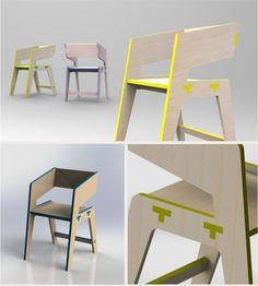 Tee Chair on Behance