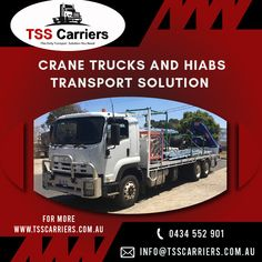 Our cranes have the highest safety standards in the industry, and with such an impressive fleet.  #cranesinsydney #cranetruck #transportationservicesinsydney #hiabservices #palletlifters #cocreteswiftlifts #spreaderbars #pipegrabs #24hourscraneservice #truckloadservices #crawlercraneservicesinsydney Truck Mounted Crane, Crawler Crane, Transportation Services, Safety, Trucks, Security Guard, Truck