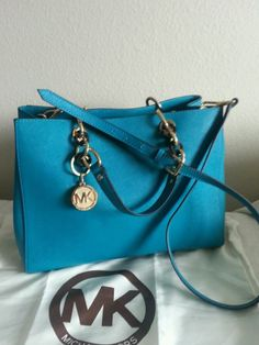 25745dc5f0c4 Buy turquoise michael kors bag > OFF61% Discounted