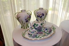 Herend china and vases