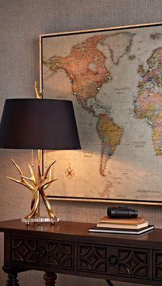 """With our Magnetic Travel Maps, you can chart your journeys around the globe and even plan that """"someday"""" trip of a lifetime."""