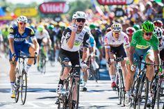 16/07/2016 PARTAGER Tour de France 2016 - 16/07/2016 - Etape 14 - Montélimar/ Villars-les-Dombes parc des oiseaux (208,5km) - CAVENDISH Mark (TEAM DIMENSION DATA) - Vainqueur d'étape pour la 4 ème fois sur le TDF2016 © ASO/A.Broadway