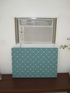 how to hide an ugly wall unit air conditioner | home | Pinterest ...