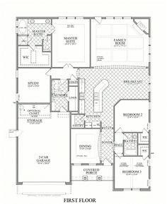 Whitmore Model - 3 bedroom 2 bath new home in Mint Hill, North Carolina - Telfair | NC - Bonterra Builders