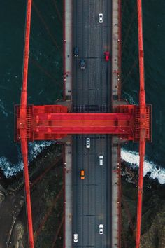 WOW who knew the Majestic Golden Gate was in Mikiland. Ponte Golden Gate, Golden Gate Bridge, San Francisco California, California Usa, Great Smoky Mountains, Aerial Photography, Color Photography, Creative Photography, State Parks