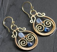 MAYA++earrings+by+AlaskaFirefly+on+Etsy,+$38.00