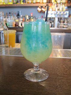 Blue Kamikaze Cocktail Recipe
