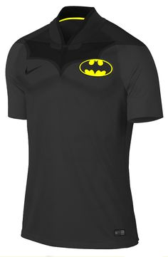 Some football jerseys for super heroes. Rugby, Nike Football, Football Jerseys, Leather Jacket With Hood, Basketball Uniforms, Soccer, I Want To Work, Batman, Wonder Woman
