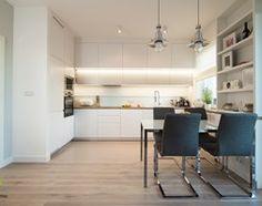 eksluzywne mieszkanie w Warszawie - Kuchnia, styl skandynawski - zdjęcie od Art of Home