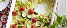 Kartoffel-Zucchetti-Gratin Buckwheat, Vegetable Pizza, Quiche, Potato Salad, Spinach, Main Dishes, Seafood, Sausage, Chicken Recipes