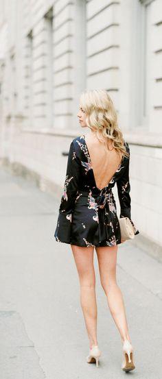 How to WOW in cocktail dress attire this season - kimono romper