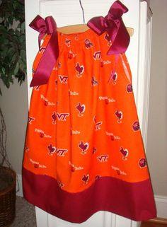 love...Virginia Tech dress