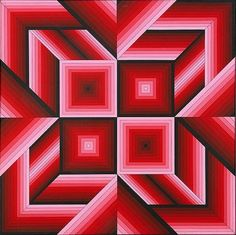design-is-fine:  Victor Vasarely, Saman, 1984