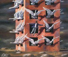Wolfgang Lettl 1919-2008 | Germany | Surrealist painter | Tutt'Art@
