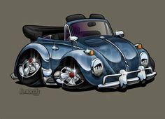 Currently reside in Minnesota, Dub lover and owner of a 60 bug, 68 Squareback and 74 Thing Porsche 356, Car Drawing Pencil, Combi Wv, Cool Car Drawings, Hot Vw, Car Pictures, Photos, Volkswagen Transporter, Garage Art