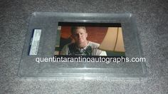 My Quentin Tarantino Autograph Collection: Michael Rapaport of True Romance! Autographs! Phot...