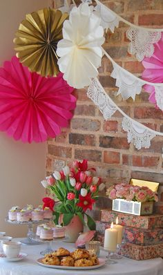 Vintage hen party by Rambling Rose Vintage