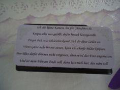 Spruch für Einwegkameras an der Hochzeit