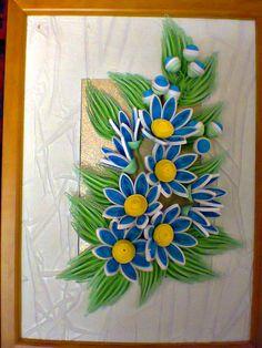 Синие цветочки