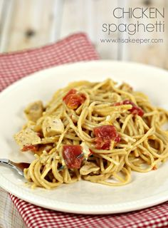 Quick Easy Casserole Recipes Chicken Spaghetti from It's a Keeper