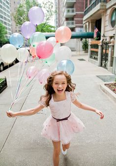 Balloon price: $1 per balloon. Balloon Price for Evangeline: All of them for free.