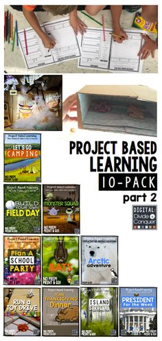 Project based learning activities in the classroom doesn't have to be difficult.  This 10-Pack is has a quick set-up, in-depth projects, unlimited possibilities, and allows students to learn at their own pace.