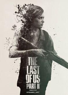 The Last of Us Poster by Dan Elijah Fajardo in 2021