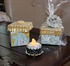 Tea light cakes come with matching box. I can make these tea light cakes for any occasion, a birthday party, shower, graduation or as guest favours. Contact me to tell me what you are celebrating and I'll make something special just for you. Battery Operated Tea Lights, Light Cakes, Beautiful Gifts, Christmas Lights, Favors, Decorative Boxes, Gift Wrapping, Victoria, Crafty