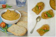 Paté de lentejas con curry. Sano, rápido y ¡Delicioso!