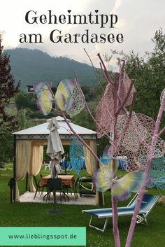 Gardasee Geheimtipp Apartments mit Hippie Garten Travel Companies, Woodworking Crafts, Van Life, Travel Destinations, Beautiful Places, Cool Designs, Road Trip, Around The Worlds, Europe